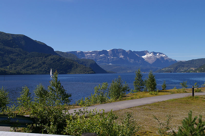 Fra Førdefjorden